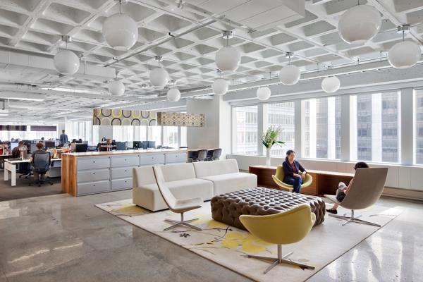 办公室设计理念释放内在的奔放