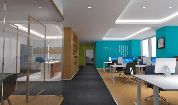 100平米办公室设计装修
