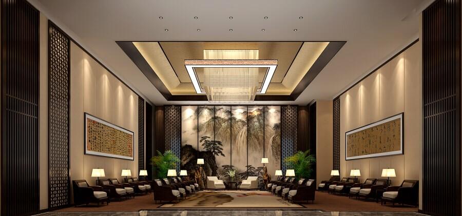 贵宾会议室装修效果图