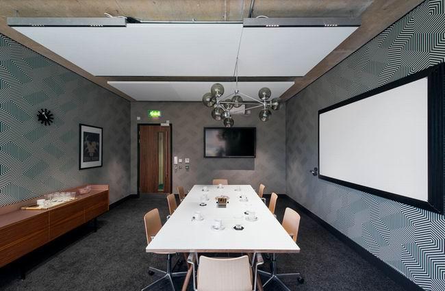 国外办事处会议室设计效果图