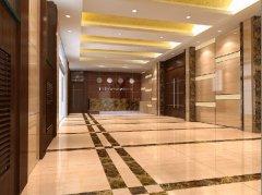 办公室装修天然石材饰面施工