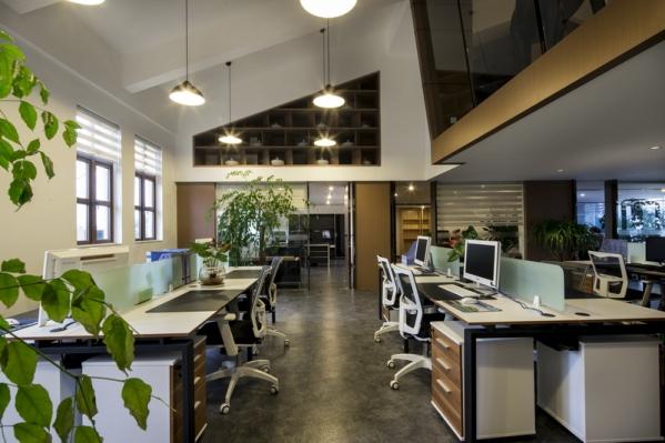 现代港式办公室设计风格图片