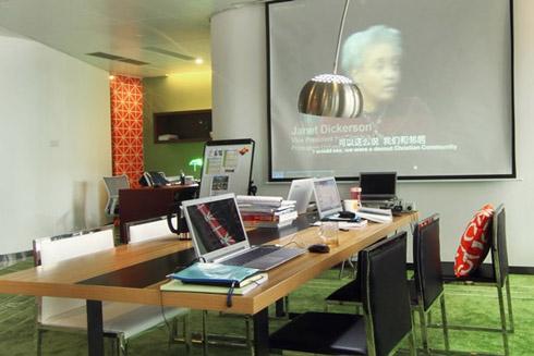 中文培训教育机构办公室装修