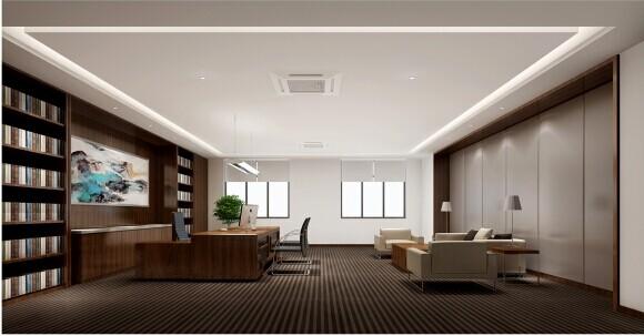 """3、藏风聚气,办公室最好是套间,外间有文员位,建议外间占整个办公室面积的三分之一。另在外间设置等候位,方便客人也可以聚人气。主办公室的门不要设在墙的中央 部位,最好为整体办公室入门处的近侧,中间的墙体不宜用透明的玻璃,最好封闭样式的,更好地保护私密性也产生一种含蓄的视觉效果(中国传统堪舆学上将这种 格局叫做""""曲则有情"""",目的是防止室内财气的直泄)。"""