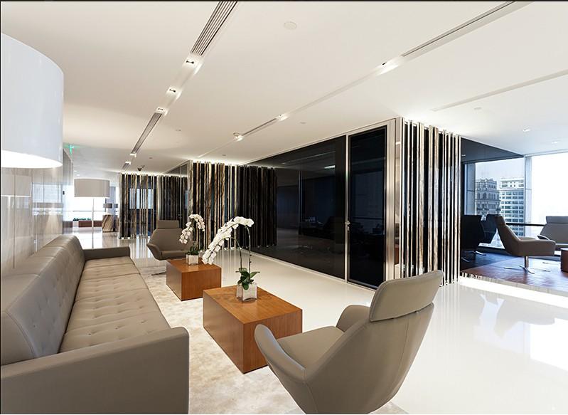 低调奢华办公室装修-办公室设计图