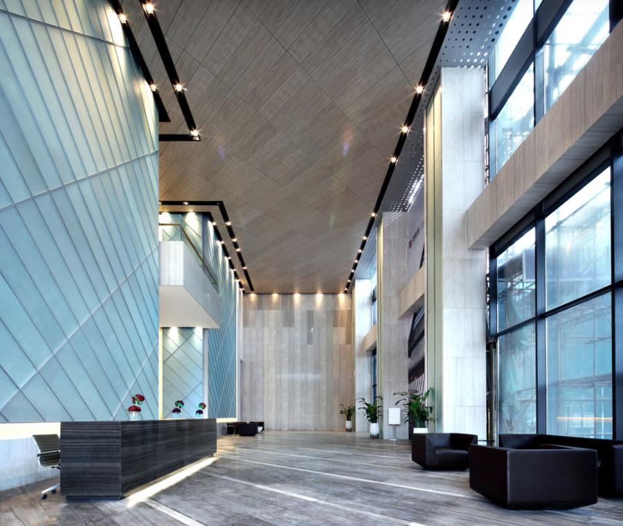 写字楼大厅高效空间设计