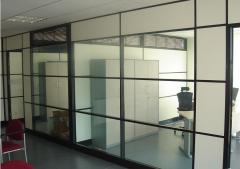 办公室装饰塑料门安装