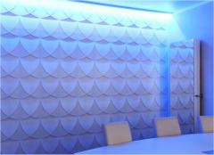 办公室三维立体墙面装