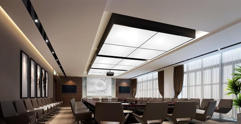办公室装修 办公空间设计 办公室吊顶装修     办公室装修金属顶棚