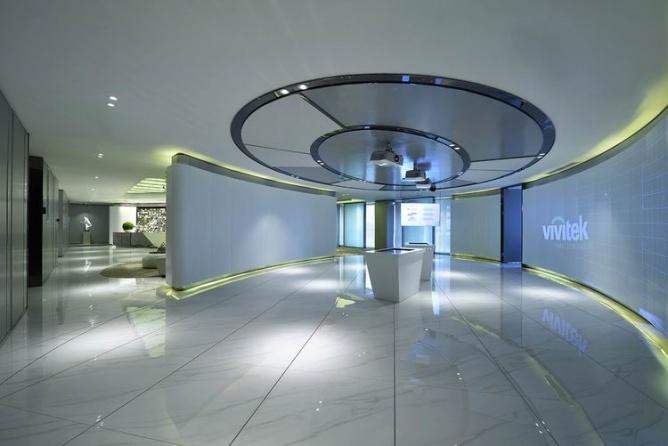 科技与现代感办公设计-办公室设计方案