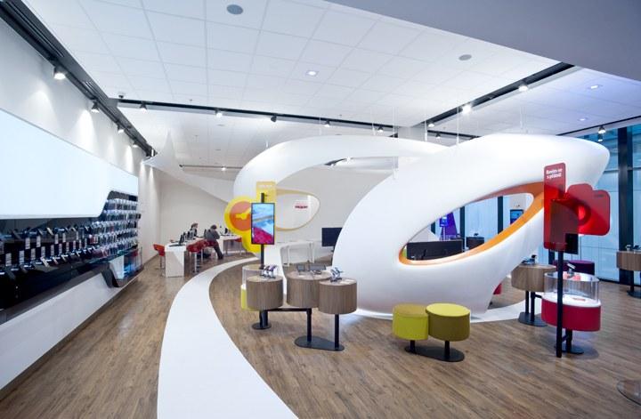 曲面造型渗透办公室展厅设计