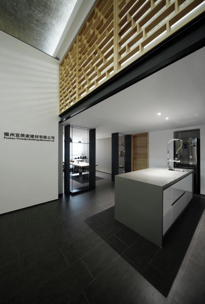 建筑材料销售公司办公室装修
