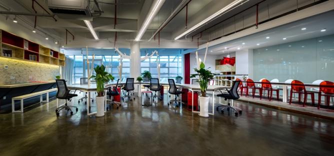 智慧孕育创意的办公室设计