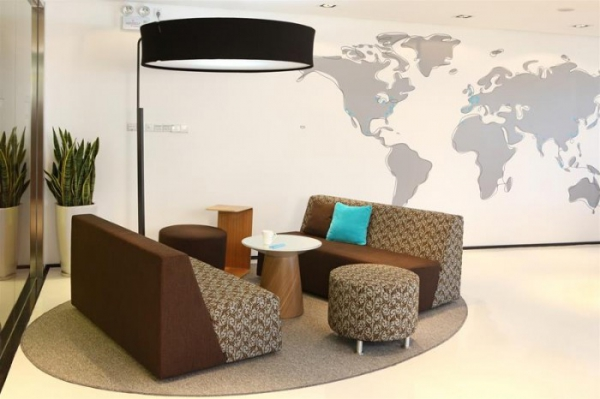 世界地图设计元素的运用可以设置在休闲