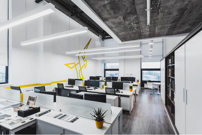 办公室设计成为公司无声广告代言图片