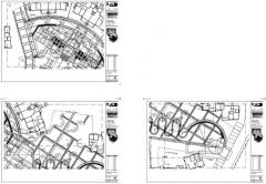办公室景观设计施工图