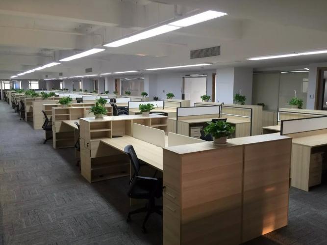四层大面积办公室装修