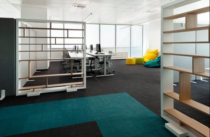 软件开发公司办公室个性设计
