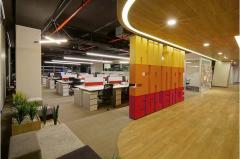 三层办公空间办公室装