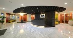 办公室圆形前厅设计