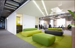 金融科技公司办公室装