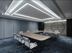 网络媒介公司会议室装