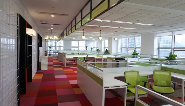 集团2000平办公室装修