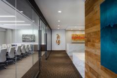 金融管理公司办公室装