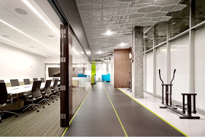 办公室装修蜂窝理念设计