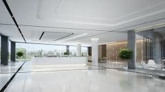 碧桂园上海办公室大厅改造装修