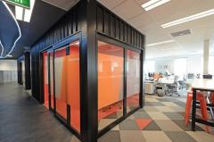 会计软件公司办公室装修