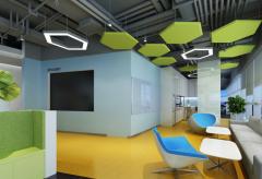 上海阿尔西空调系统服务公司办公室装修