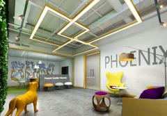 大面积办公空间设计效