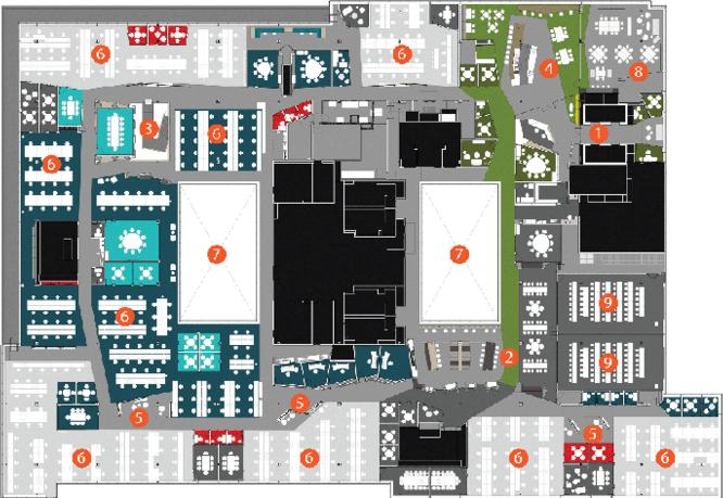 协作式办公室环境设计方案