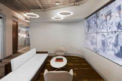 神力科技公司办公室装修方案