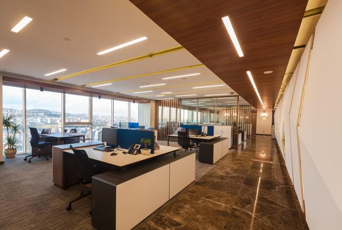 汤臣金融大厦金融公司办公室装修