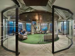 多元化国际金融企业集团办公室装修