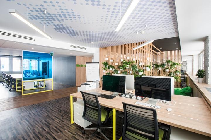 软件开发公司办公室设计理念