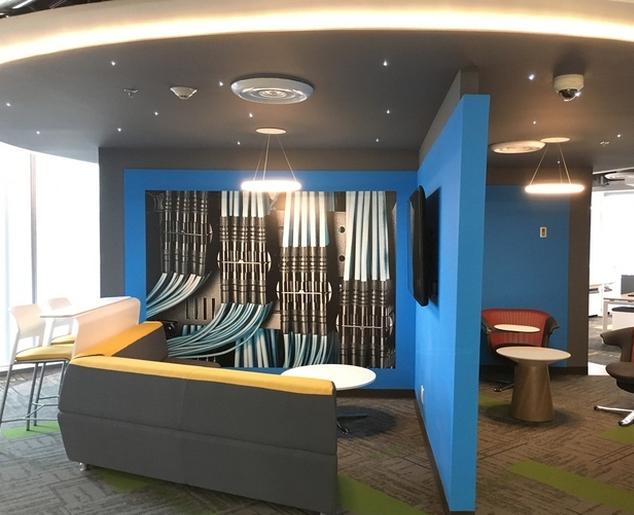 科技公司办公室装修科技作用
