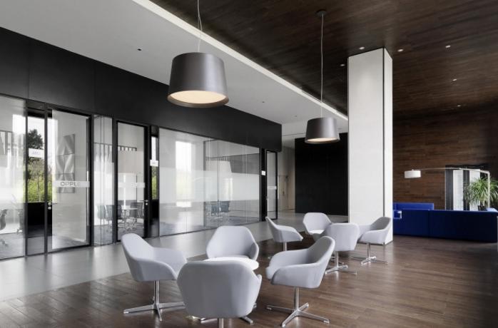 """欧普办公室设计""""照明创造价值"""""""