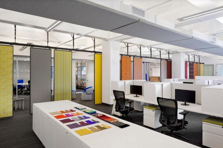 纺织品公司办公室装修