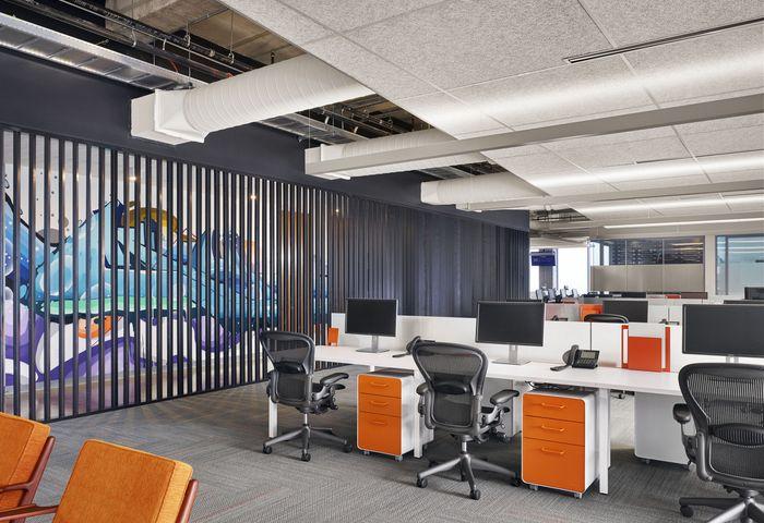 猎头招聘公司办公室设计