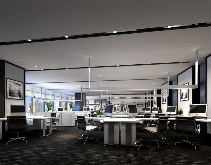 海隆石油工业集团办公室装修改造工程
