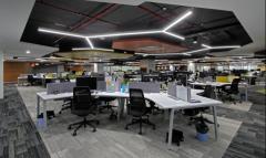 哈福网电商平台办公室装修