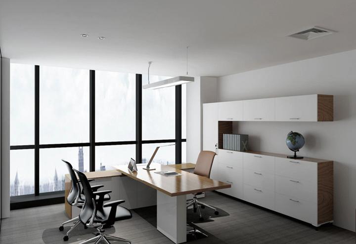 上海八维生物公司办公室装修