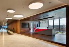 玻璃制造集团公司办公室设计