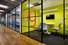 办公室设计方案橙色之