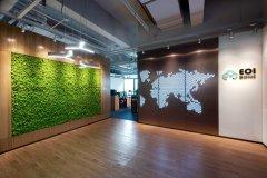 上海擎创信息公司办公室装修