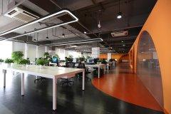 优锘IT科技公司办公室装修