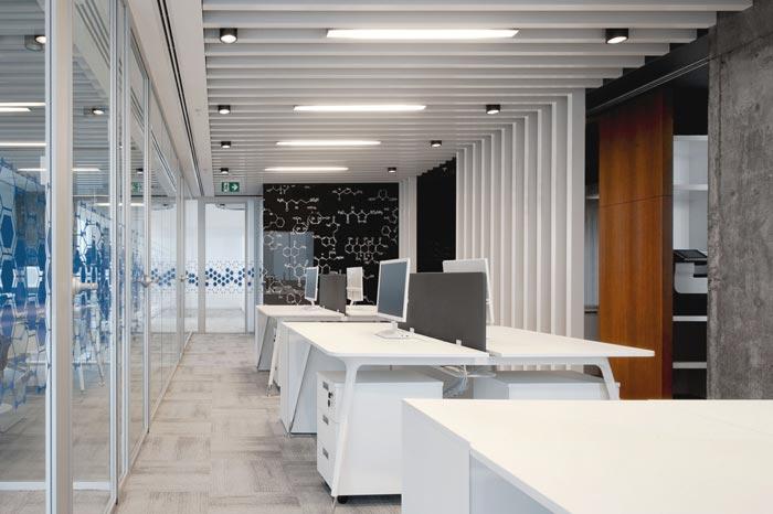 Konsina外企公司办公室设计
